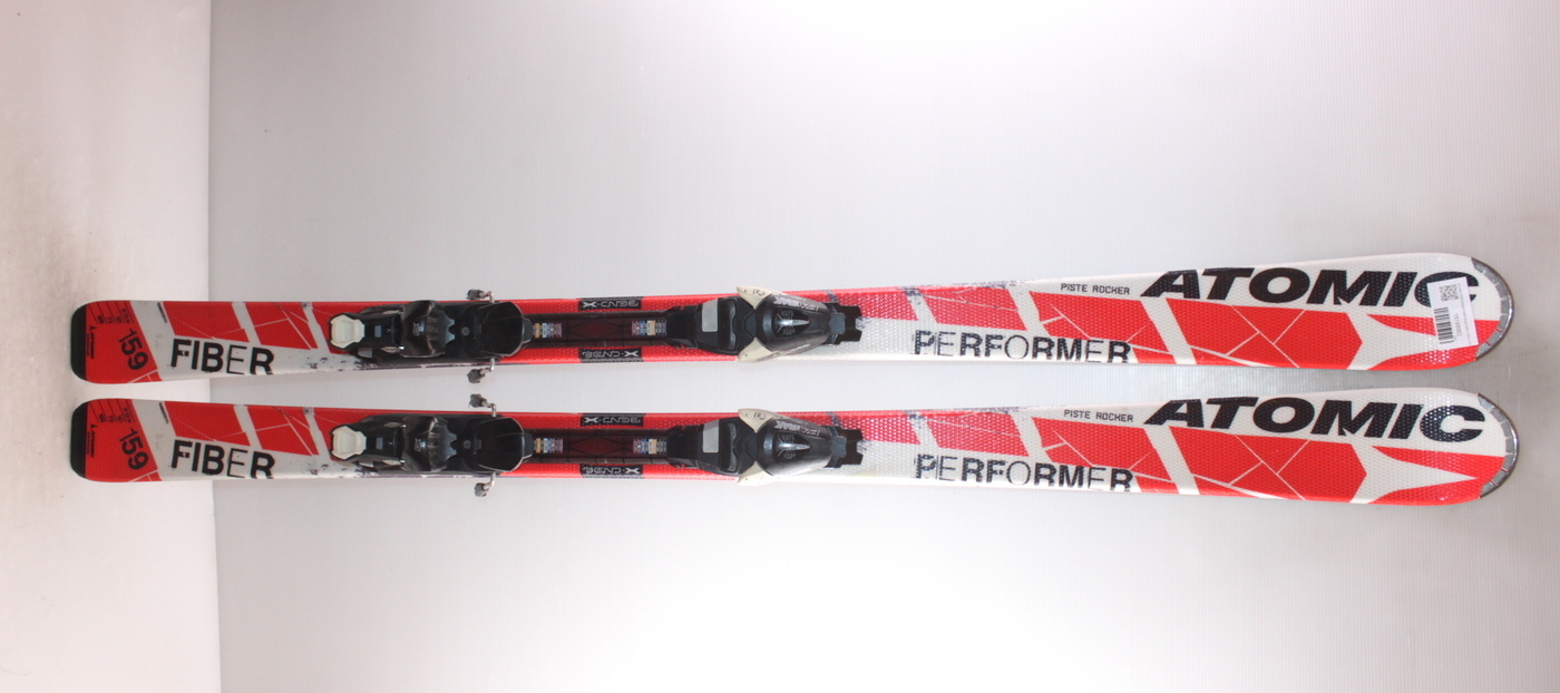 Lyže ATOMIC PERFORMER FIBER Red/White 159cm