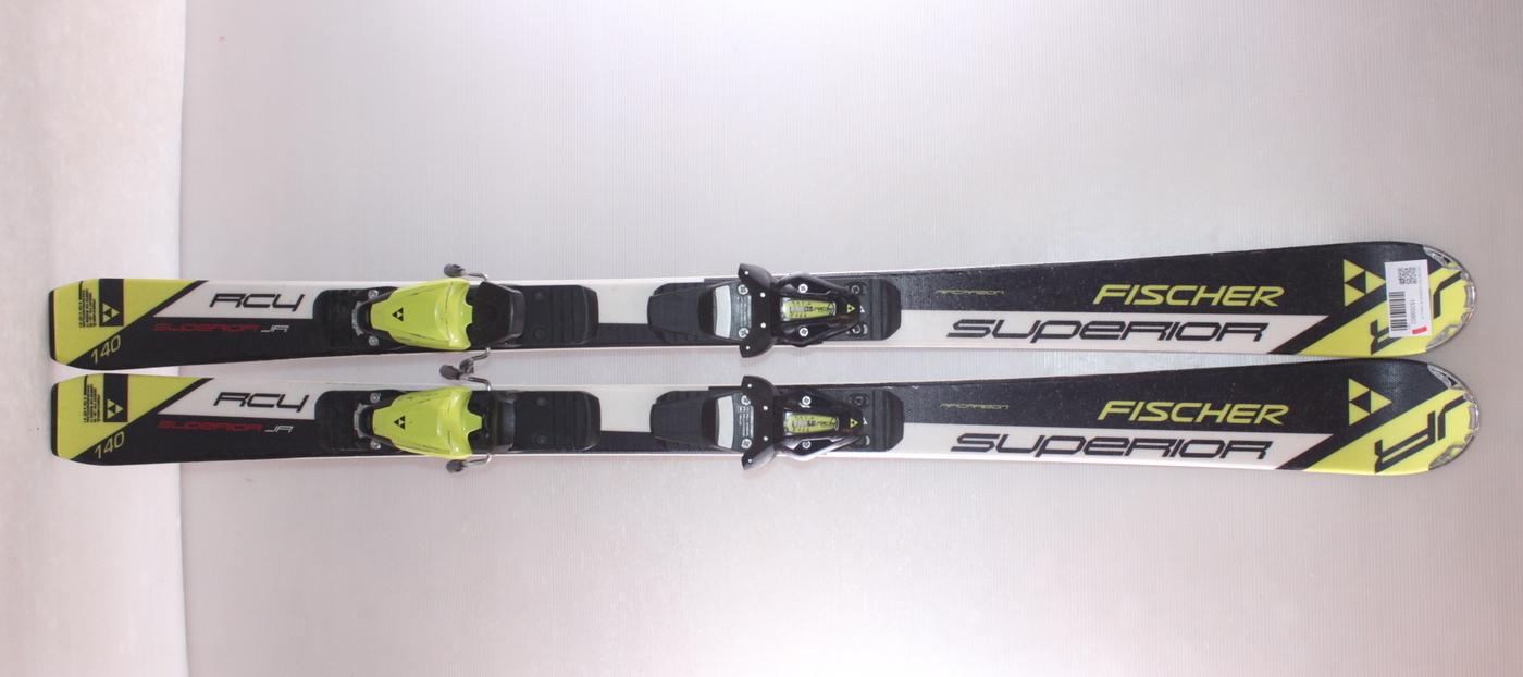 Dětské lyže FISCHER RC4 SUPERIOR JR 140cm