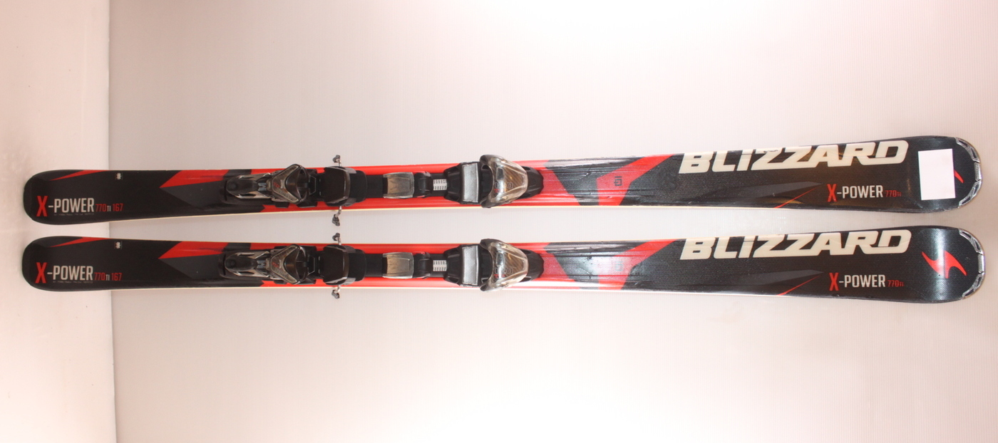 Lyže BLIZZARD X-POWER 770 Ti 167cm