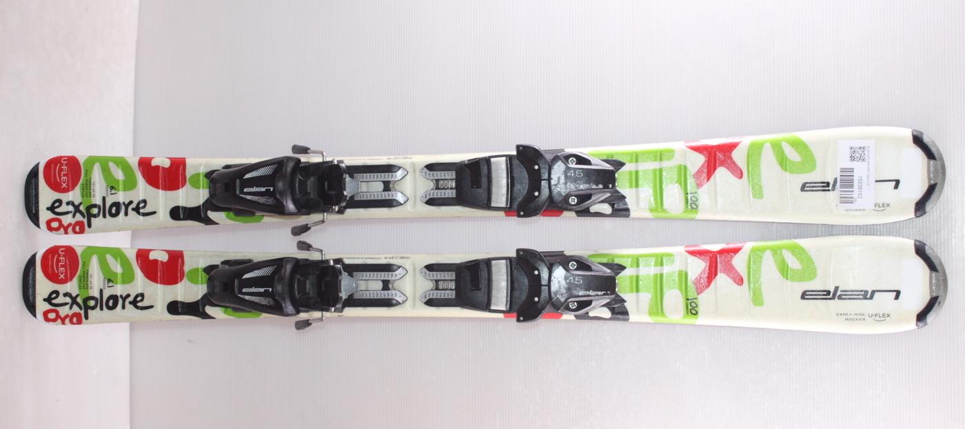 Dětské lyže ELAN EXPLORE PRO 100cm