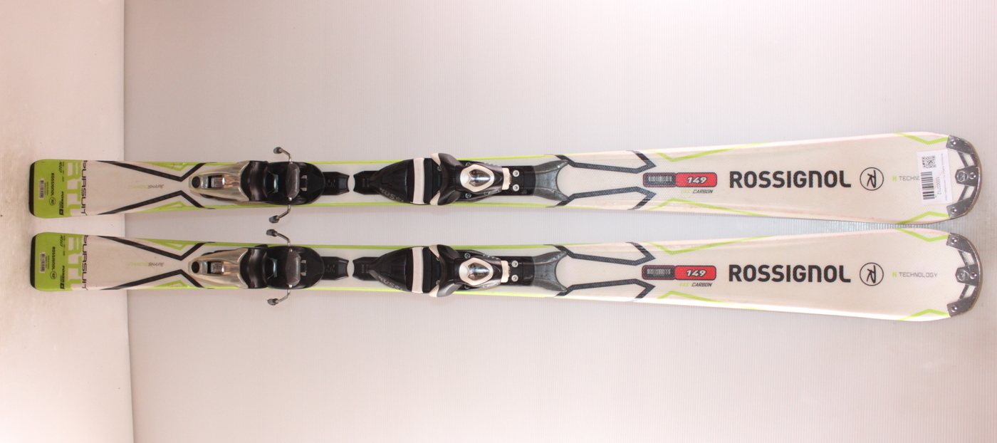 Lyže ROSSIGNOL PURSUIT RTL WHITE/GREEN 149cm