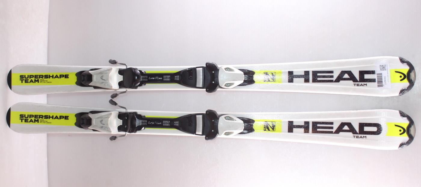 Dětské lyže HEAD SUPERSHAPE TEAM 117cm