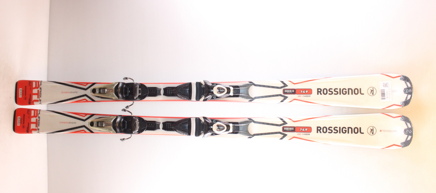 Lyže ROSSIGNOL PURSUIT RTL WHITE/RED 149cm