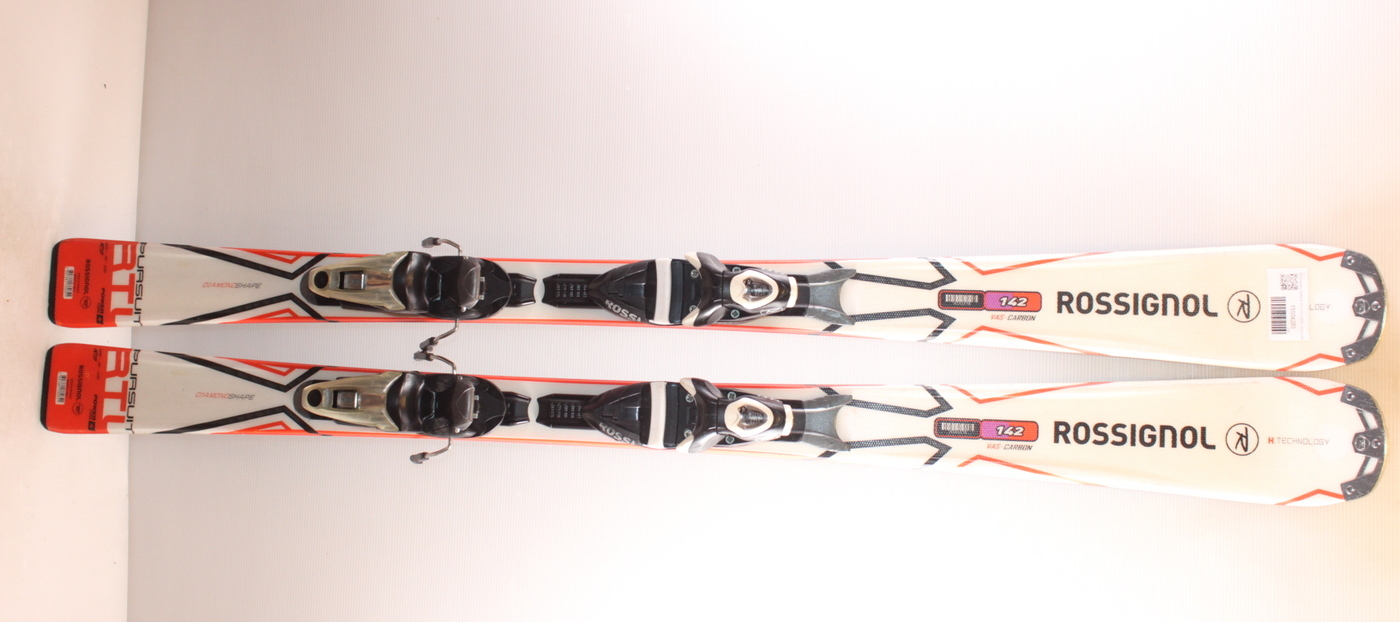 Lyže ROSSIGNOL PURSUIT RTL WHITE/RED 142cm