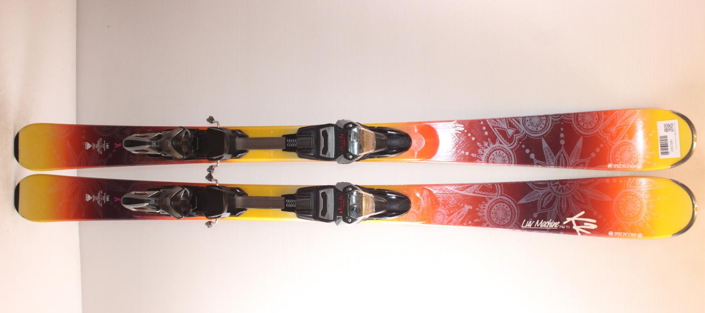 Dámské lyže K2 LUV MACHINE 74 Ti 146cm