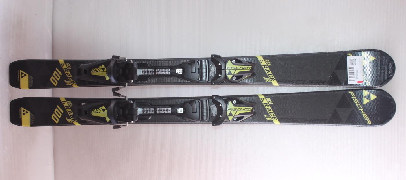 Dětské lyže FISCHER RC4 RACE JR 100cm