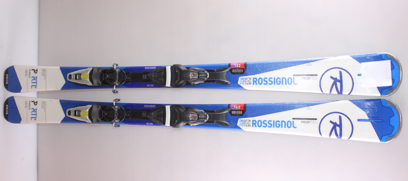 Lyže ROSSIGNOL PURSUIT RTL X WHITE/BLUE 142cm