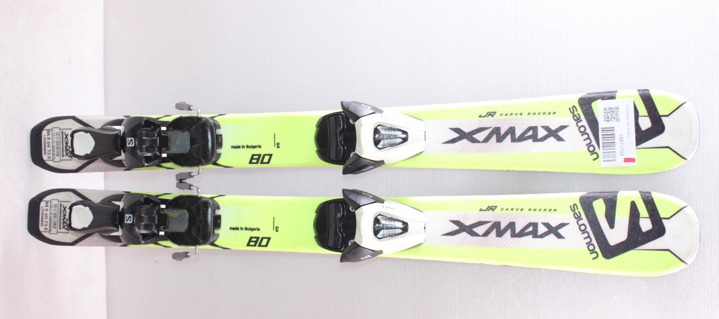 Dětské lyže SALOMON X MAX JR 80cm