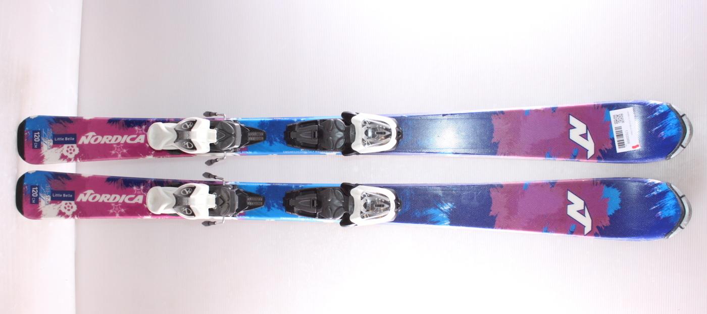 Dětské lyže NORDICA LITTLE BELLE 120cm