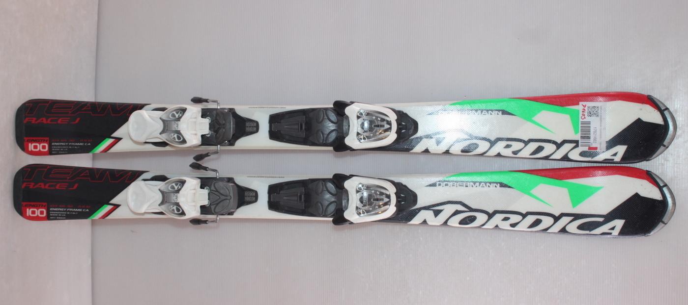 Dětské lyže NORDICA DOBERMANN TEAM RACE J  100cm