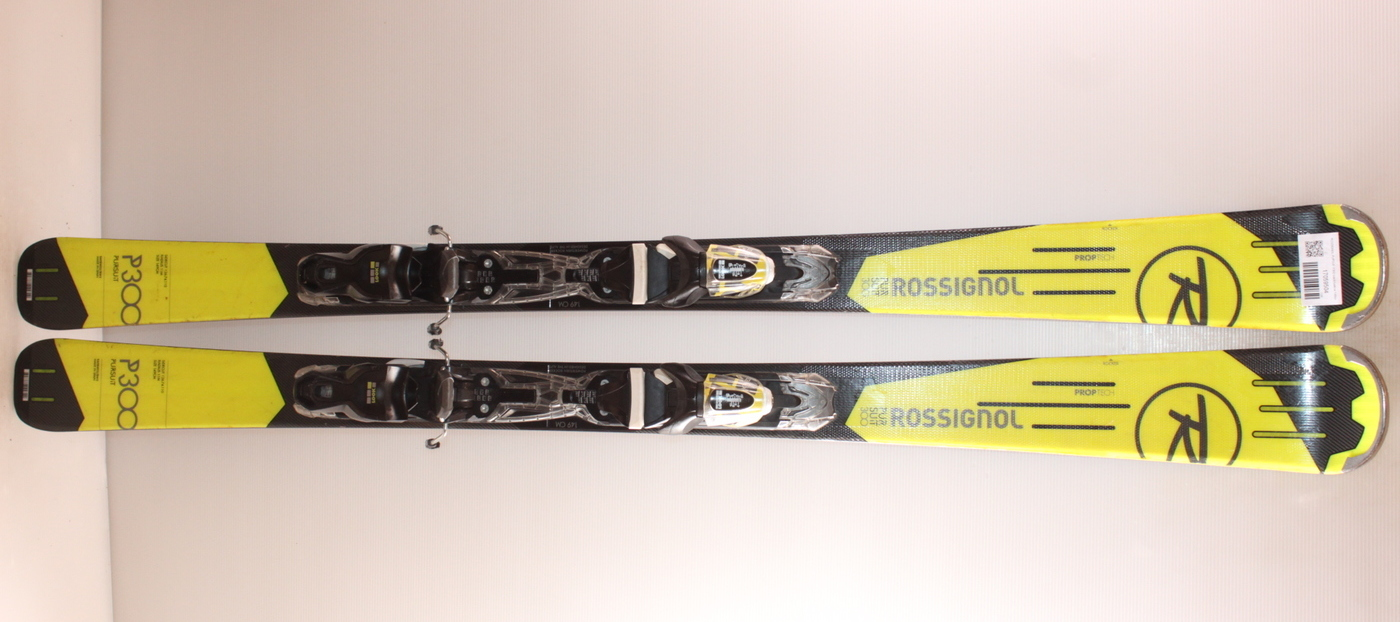 Lyže ROSSIGNOL PURSUIT P300 black/yellow 149cm