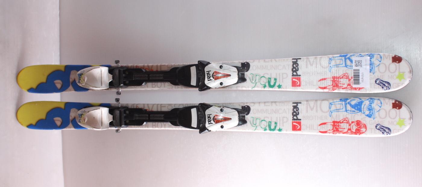 Dětské lyže HEAD YOU 107cm