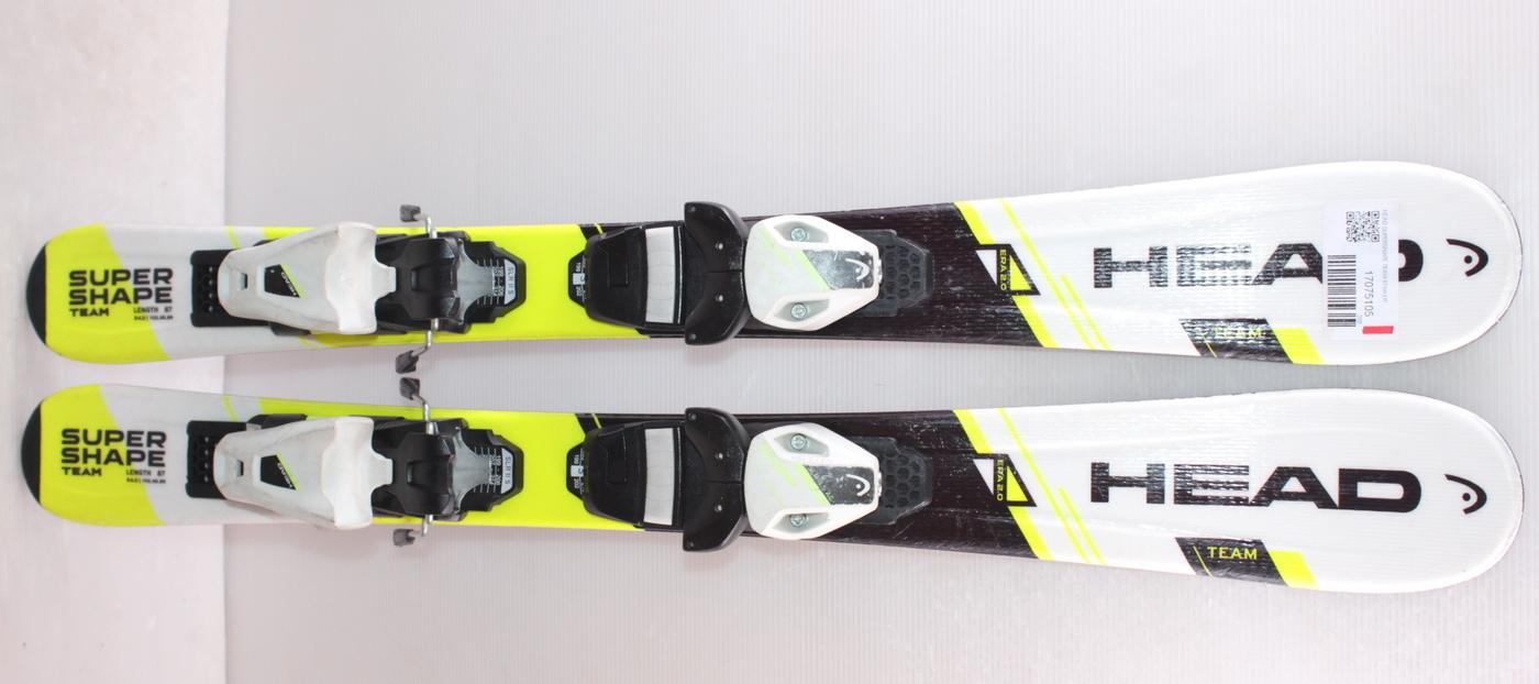 Dětské lyže HEAD SUPERSHAPE TEAM 87cm