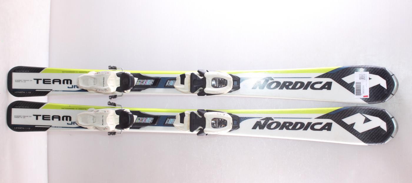 Dětské lyže NORDICA TEAM J 110cm rok 2018