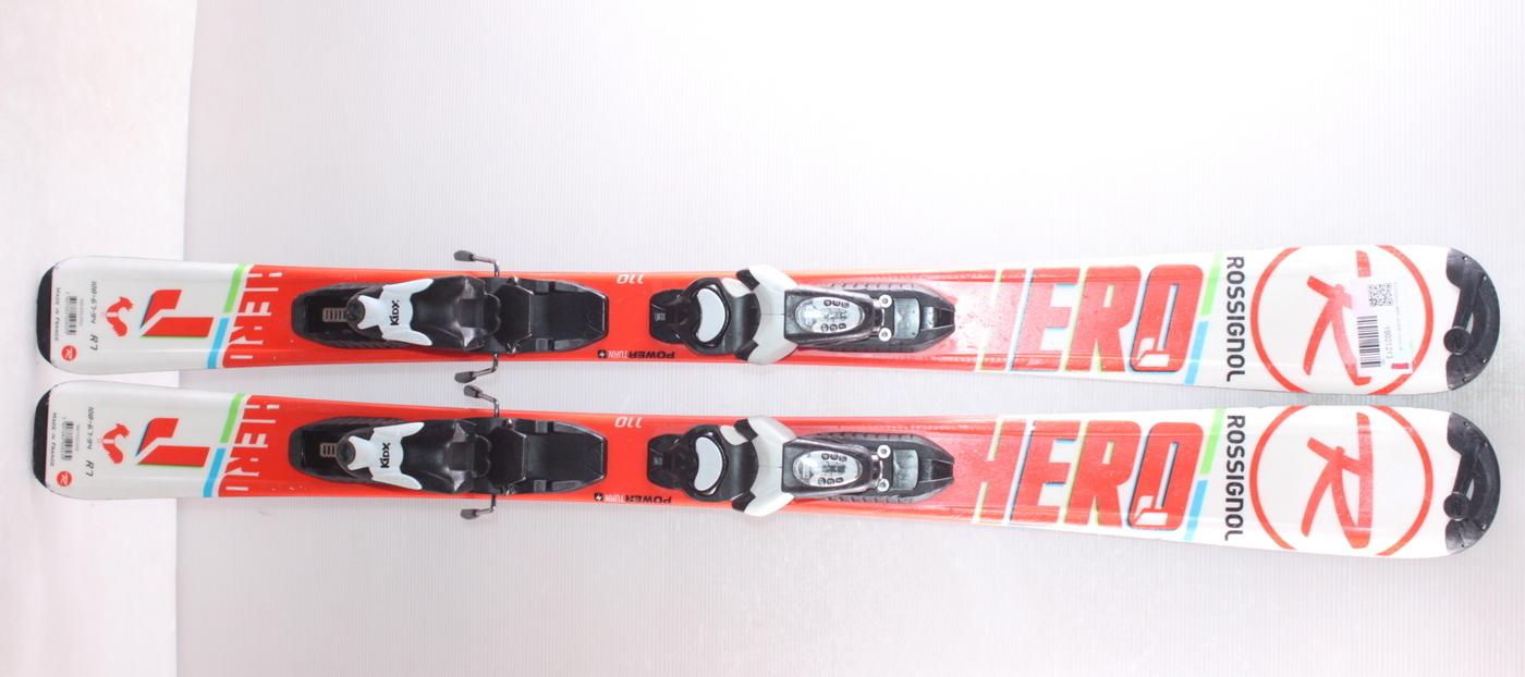 Dětské lyže ROSSIGNOL HERO JUNIOR 110cm rok 2018