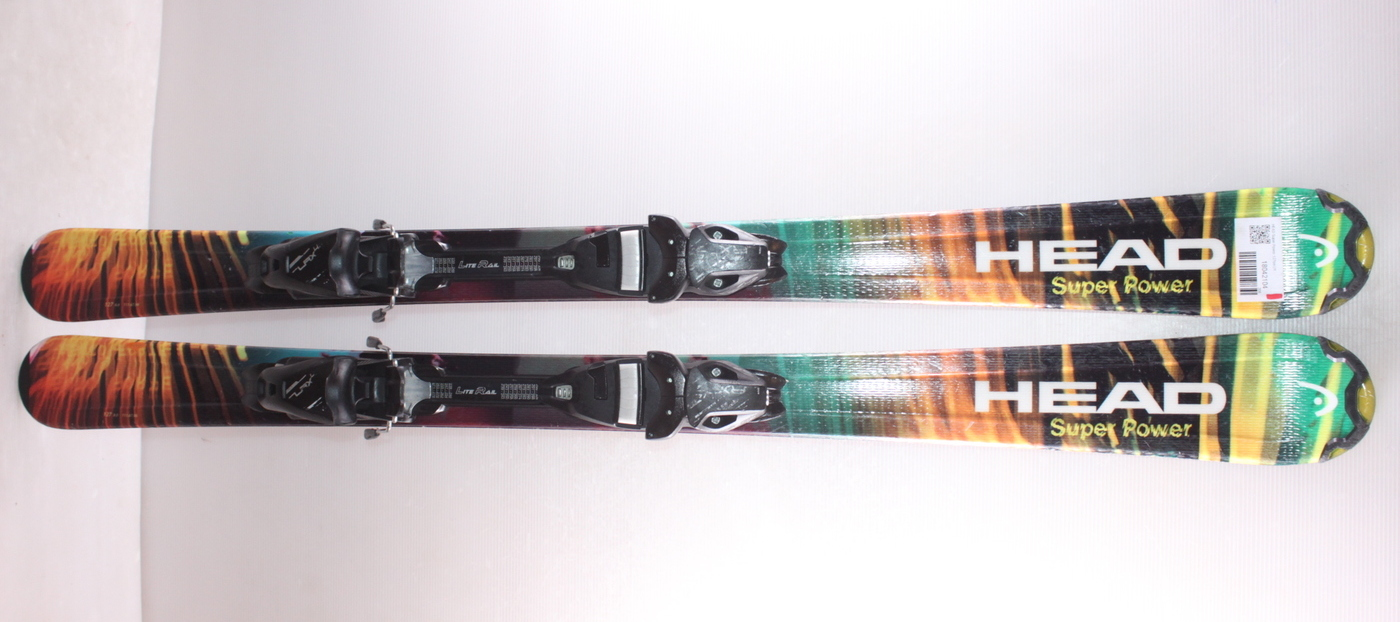 Dětské lyže HEAD Super Power 127cm rok 2018