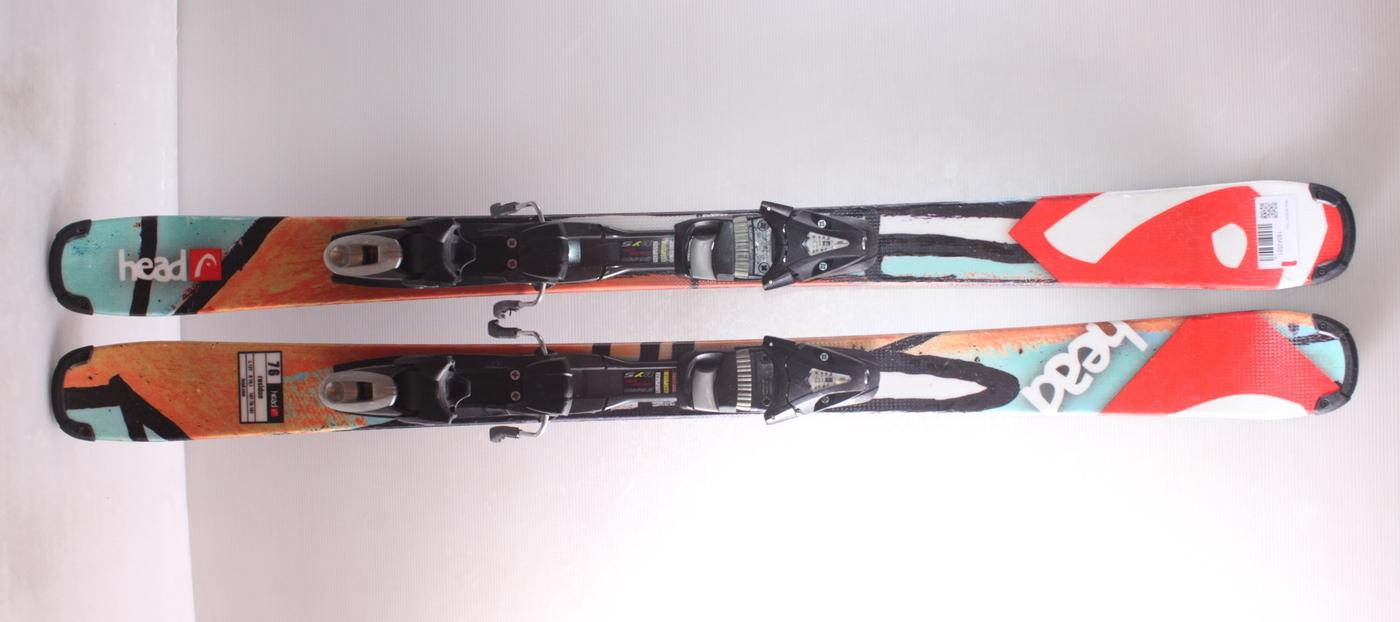 Dětské lyže HEAD RESIDUE 127cm rok 2018
