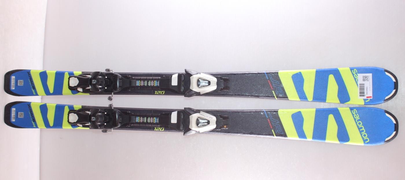 Dětské lyže SALOMON X RACE JR 120cm rok 2018