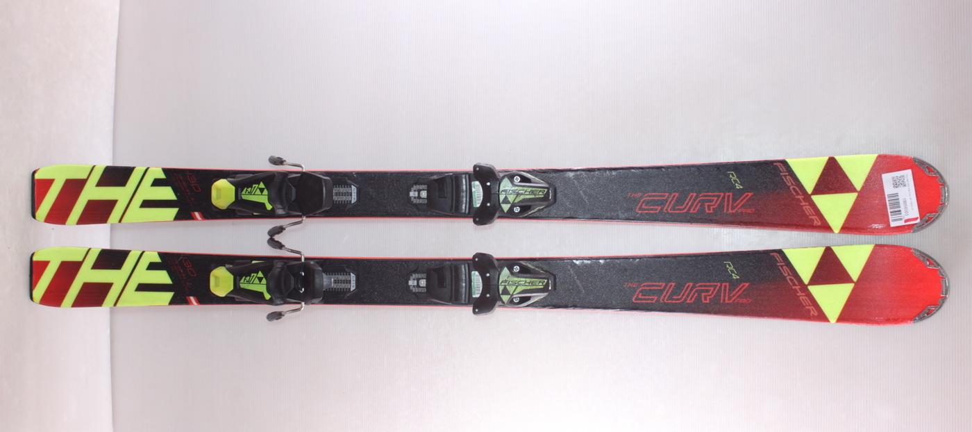 Dětské lyže FISCHER RC4 The Curv JR 130cm rok 2018