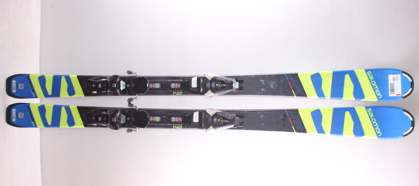 Dětské lyže SALOMON X RACE JR 140cm rok 2018