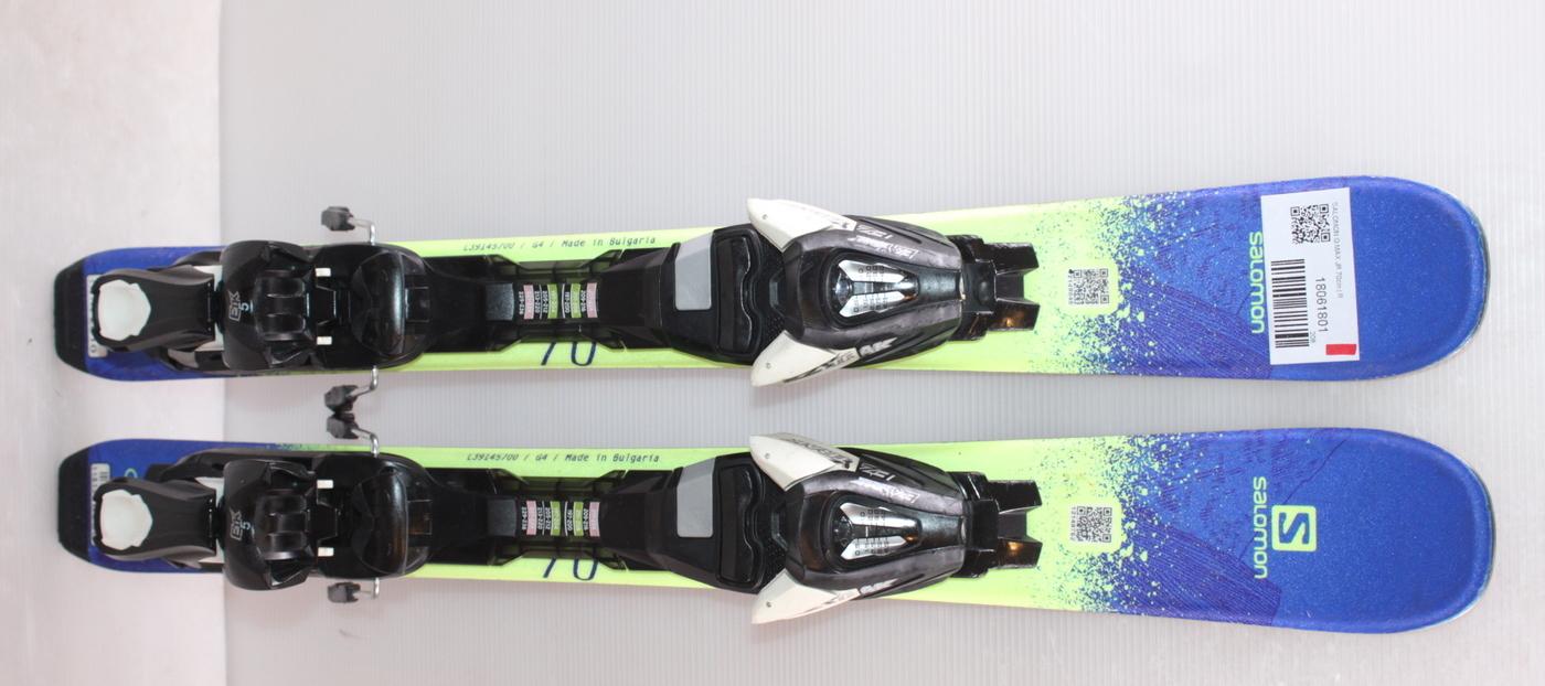 Dětské lyže SALOMON Q MAX JR 70cm rok 2018