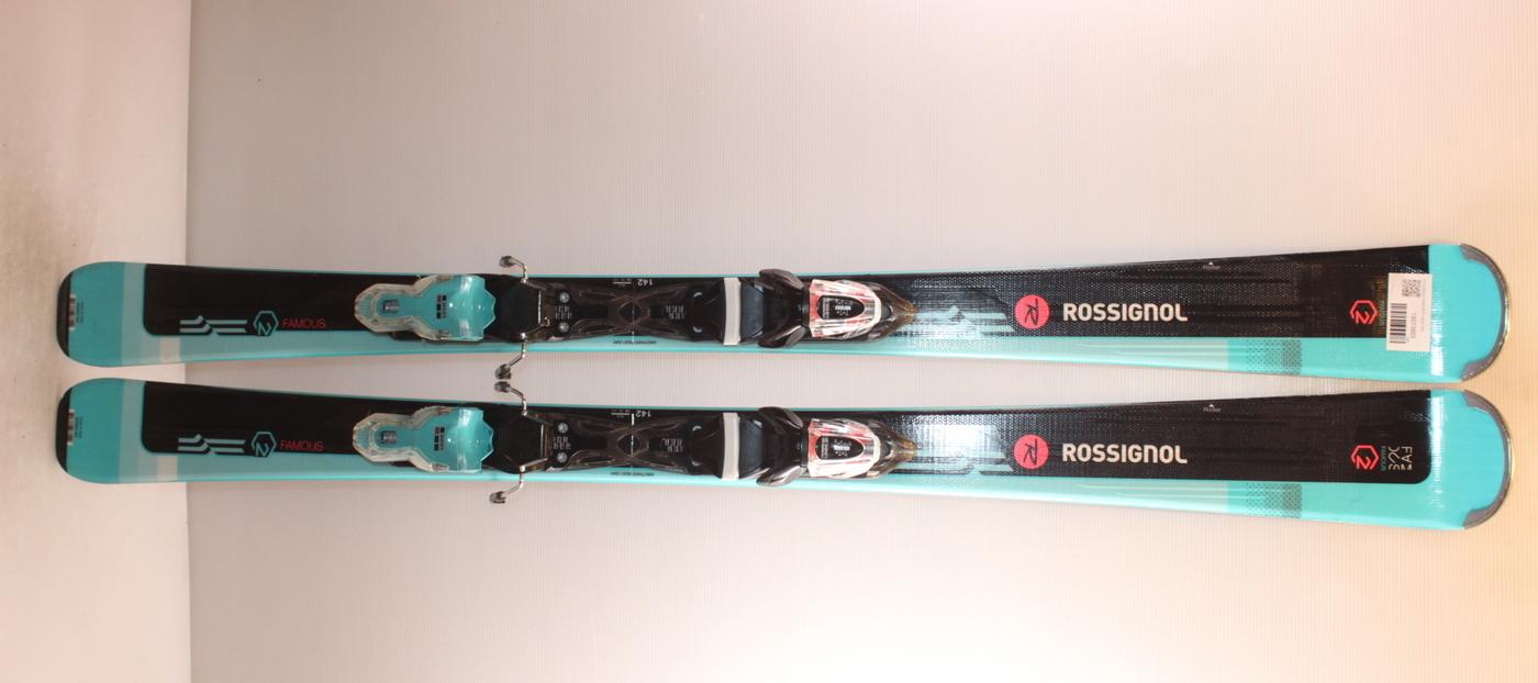 Dámské lyže ROSSIGNOL FAMOUS 2 142cm rok 2019