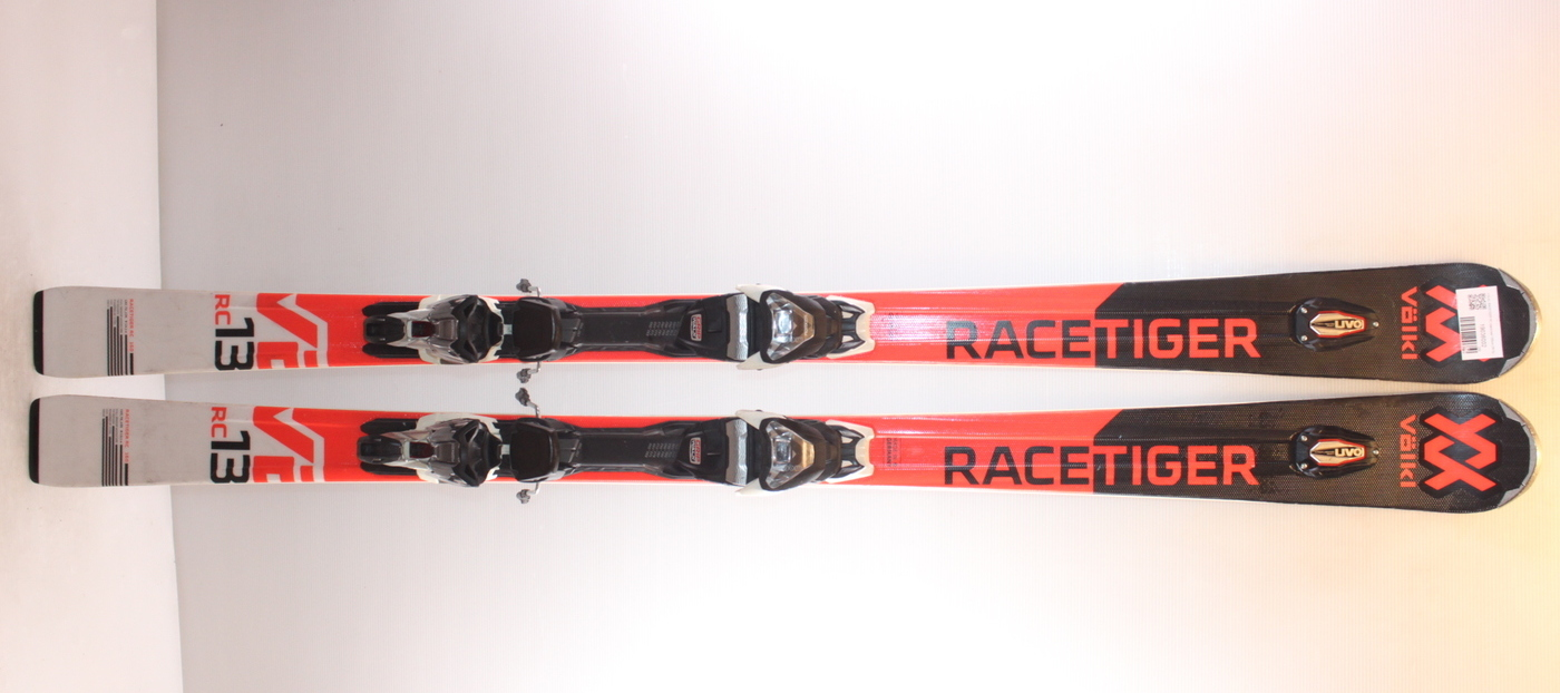 Lyže VOLKL RACETIGER RC black/red 160cm rok 2019