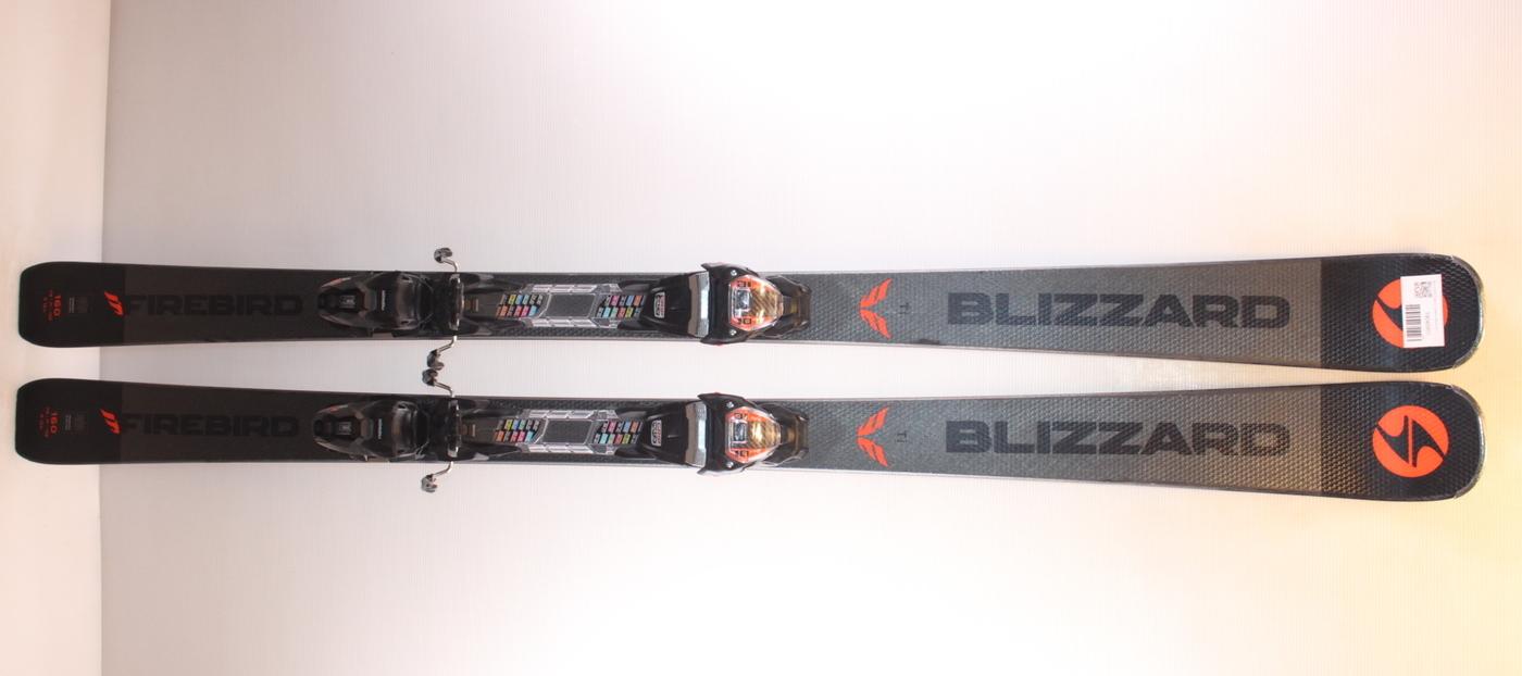Lyže BLIZZARD Firebird Ti Black 160cm rok 2019