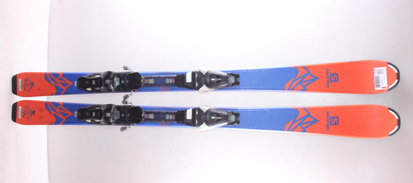 Dětské lyže SALOMON QST MAX 130cm rok 2019