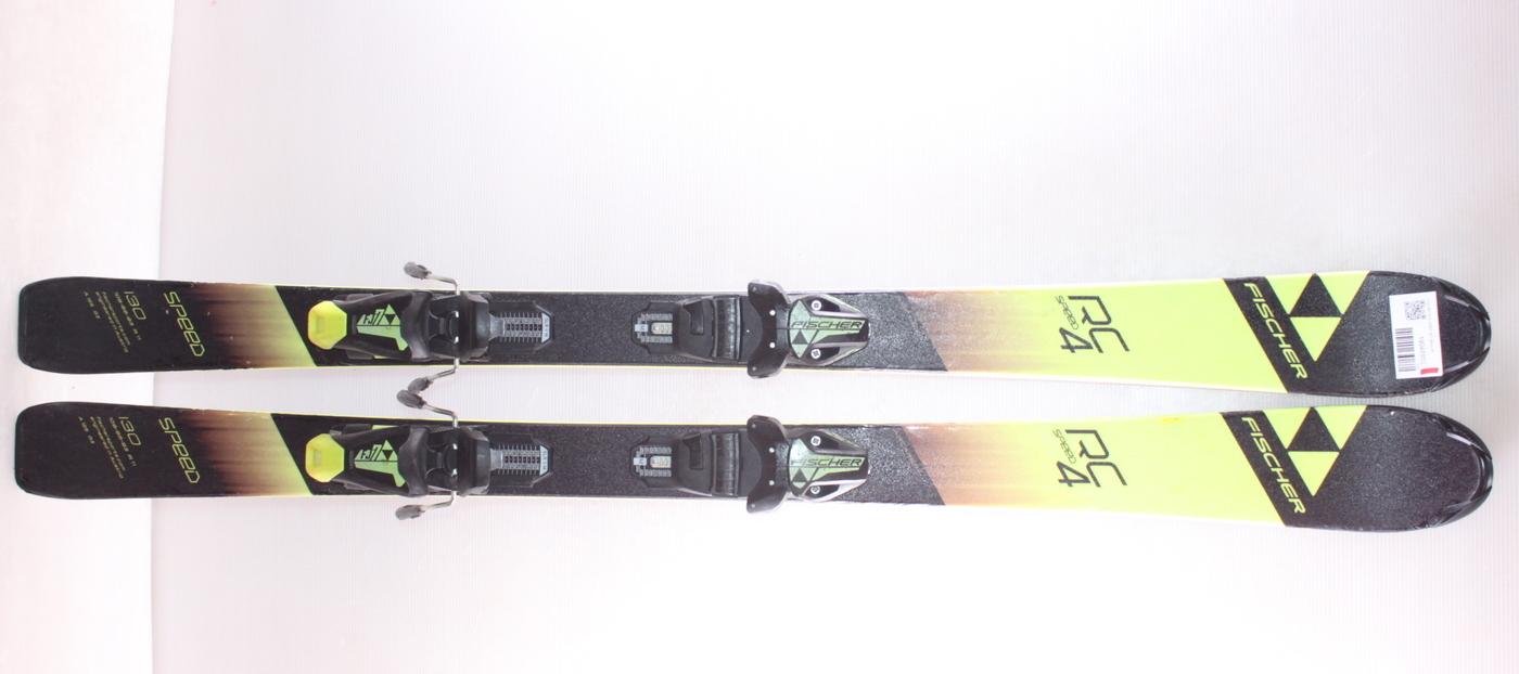 Dětské lyže FISCHER RC4 SPEED JR 130cm rok 2019