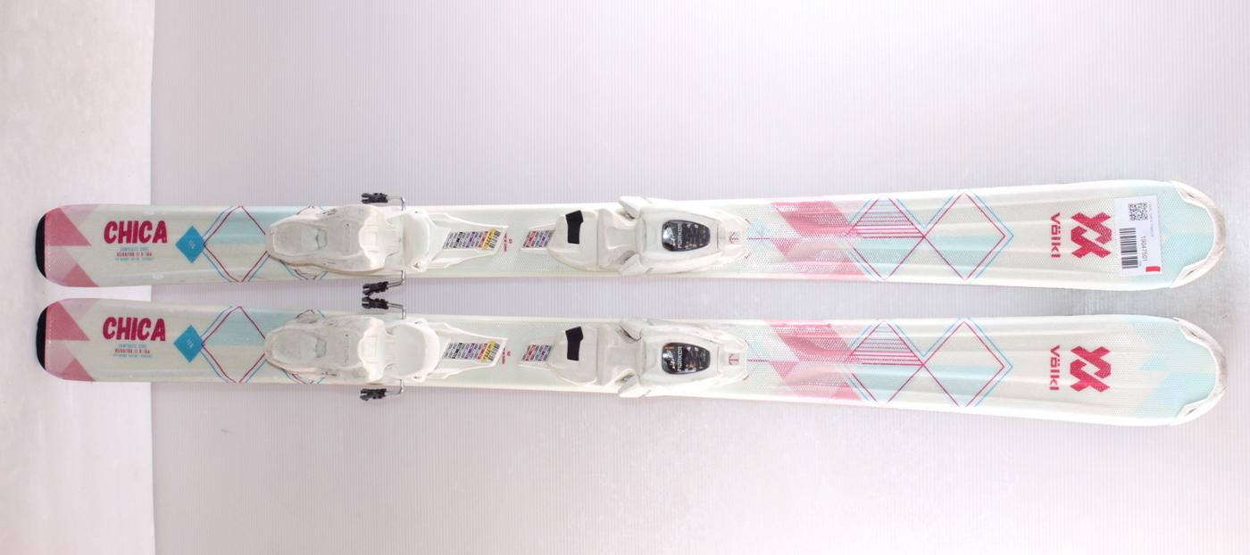 Dětské lyže VOLKL CHICA 110cm rok 2019