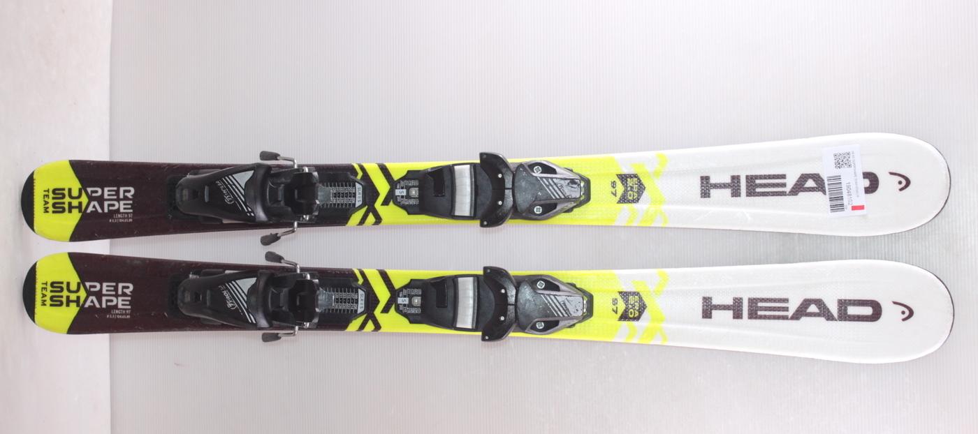 Dětské lyže HEAD SUPERSHAPE TEAM 97cm rok 2019
