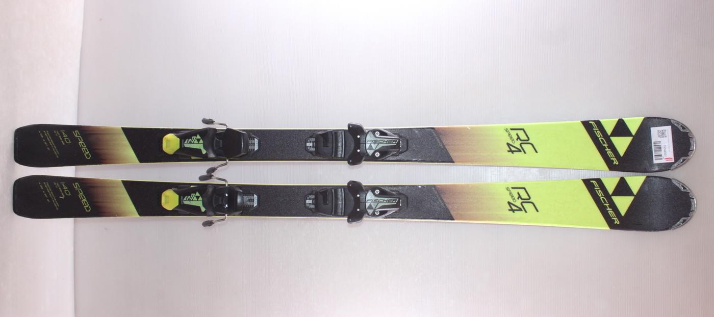 Dětské lyže FISCHER RC4 SPEED JR 140cm rok 2019