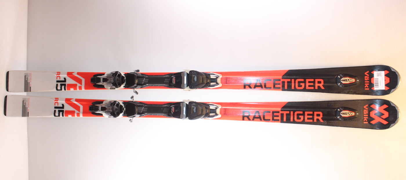 Lyže VOLKL RACETIGER RC black/red 165cm rok 2019