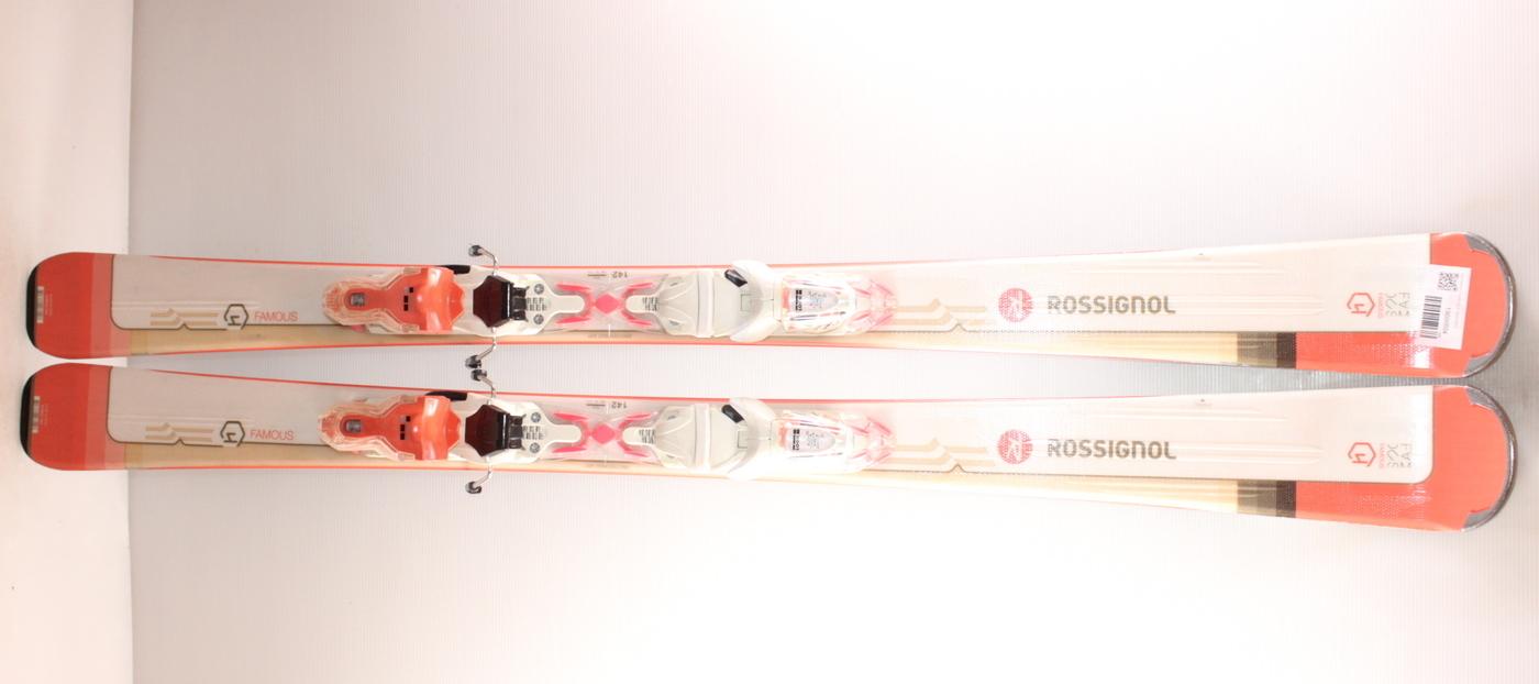Dámské lyže ROSSIGNOL FAMOUS 4 142cm rok 2019
