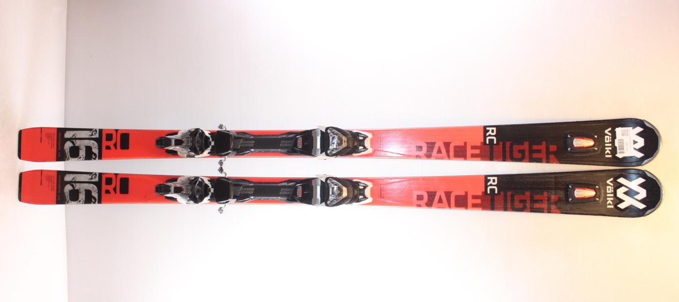 Lyže VOLKL RACETIGER RC black/red 170cm rok 2020