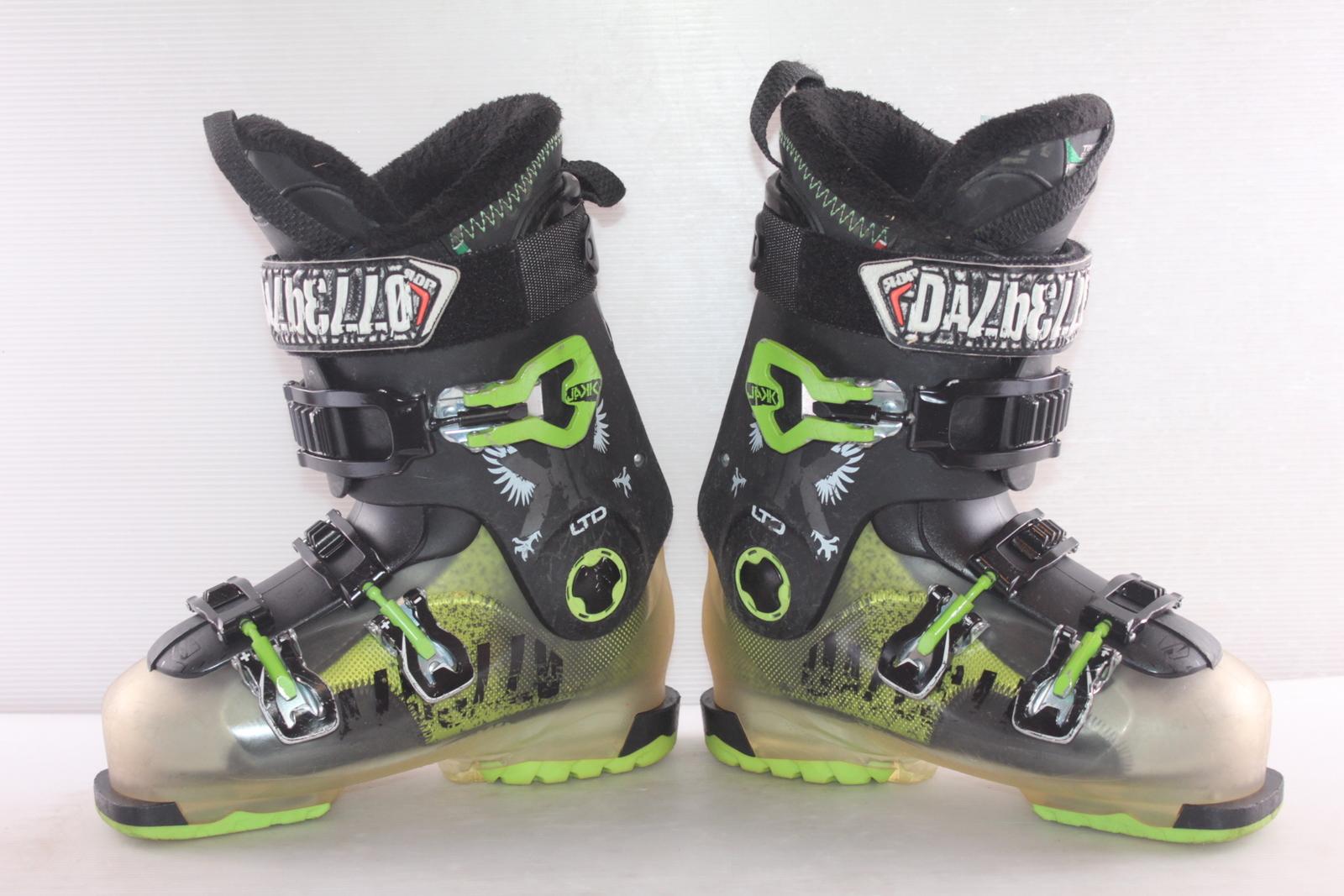 Lyžařské boty Dalbello Jakk Ltd vel. EU38.5 flexe 80
