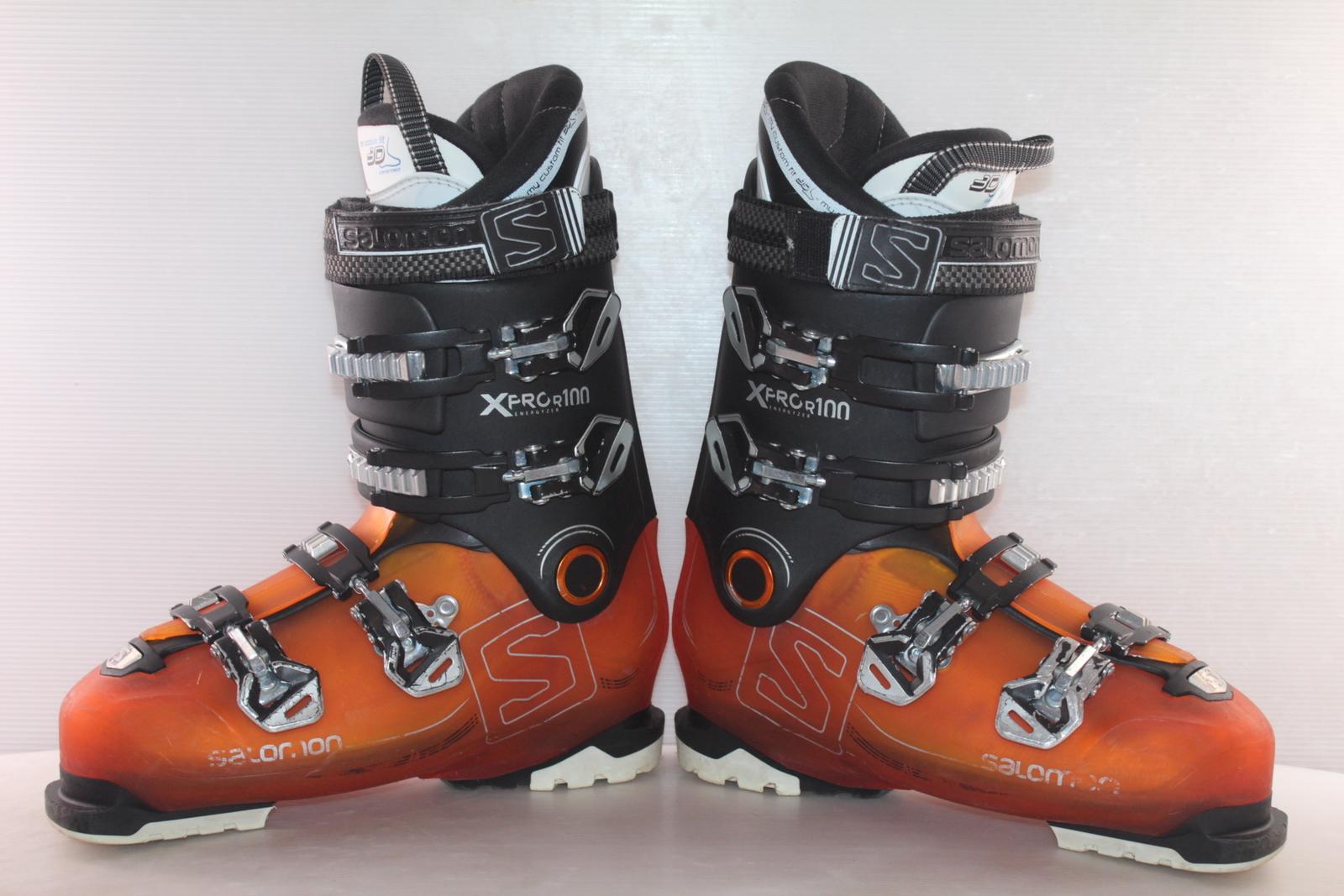 Lyžařské boty Salomon X Pro R100 vel. EU43 flexe 100