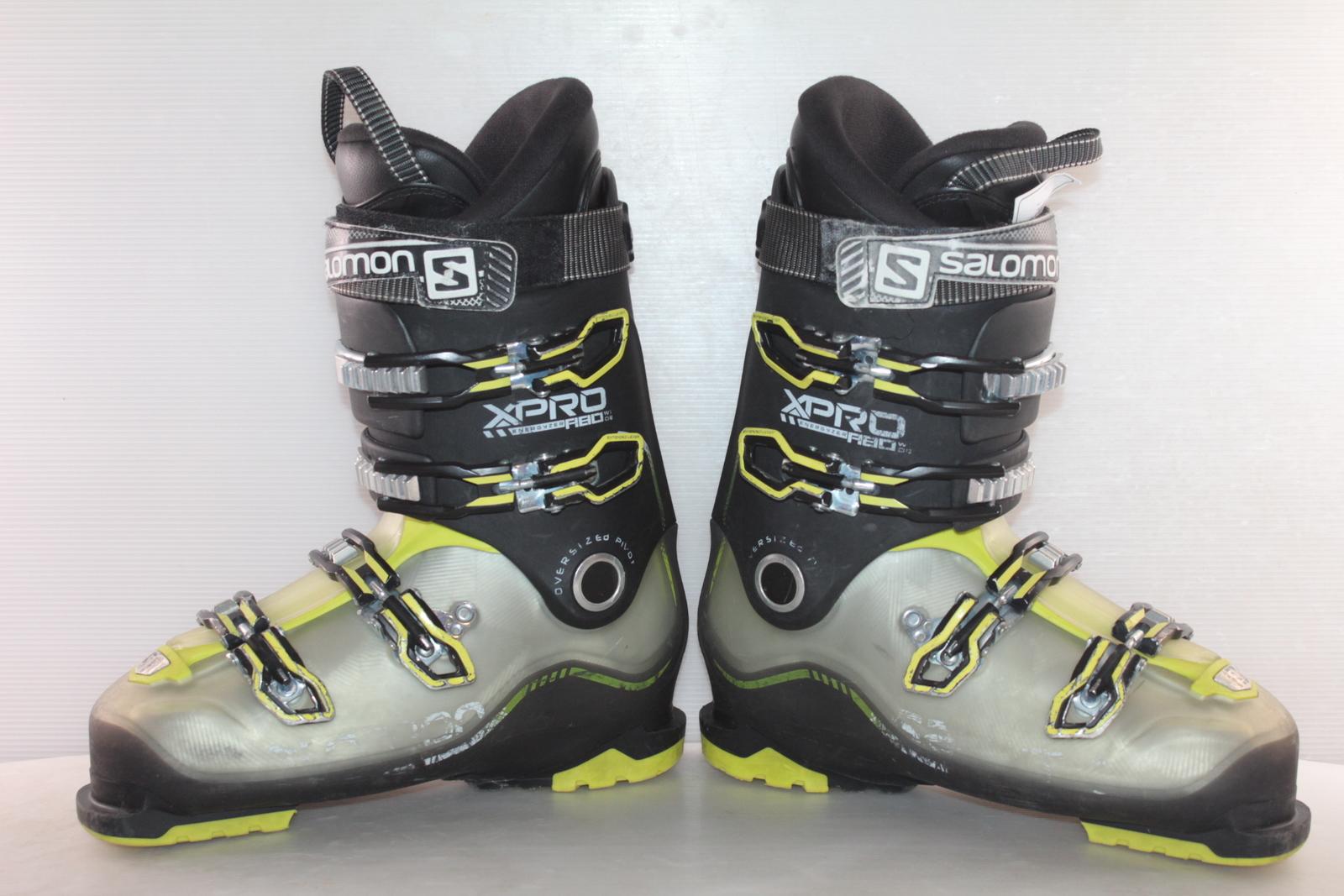 Lyžařské boty Salomon X Pro R80  vel. EU43 flexe 80