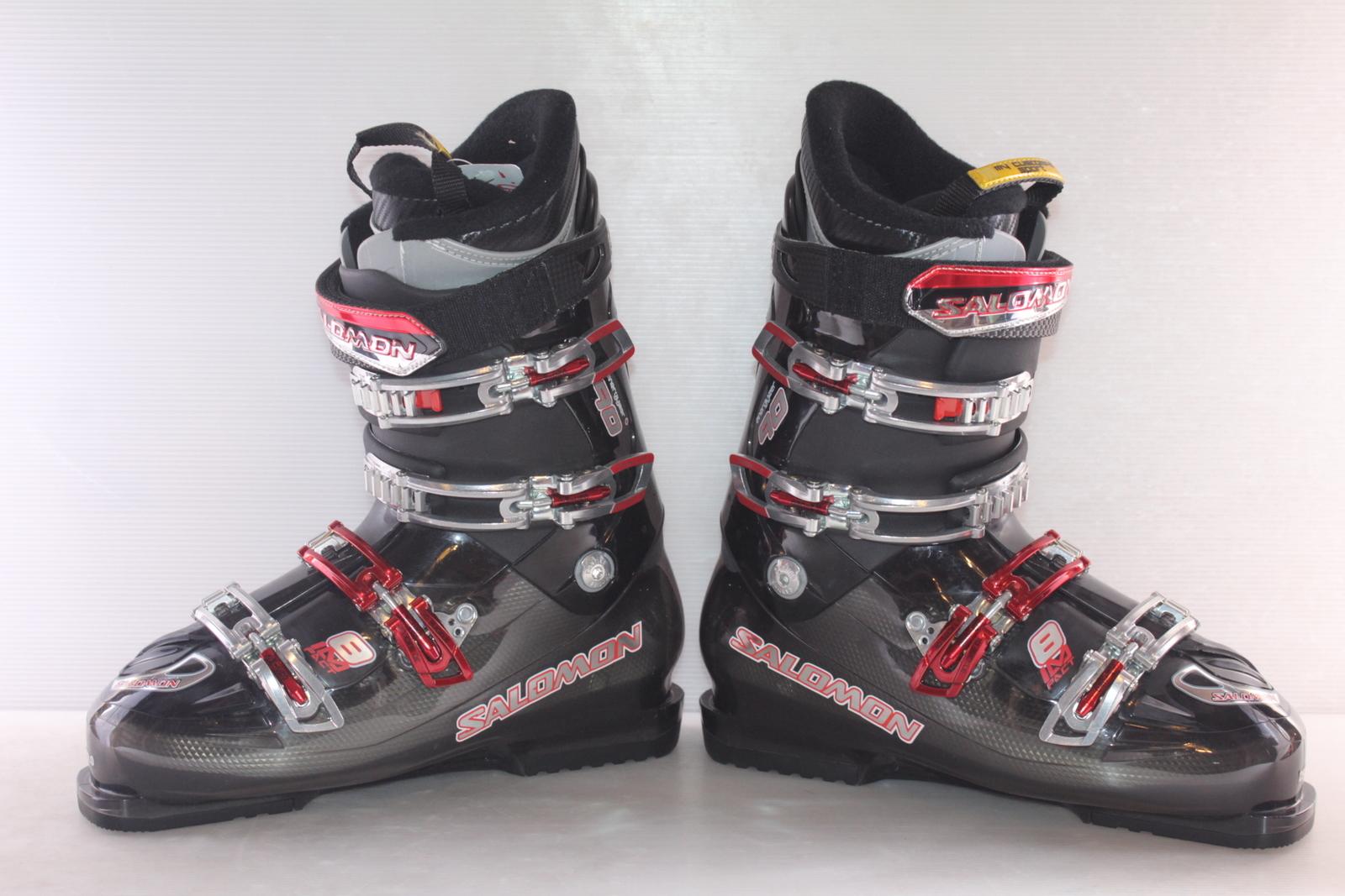 Lyžařské boty Salomon Impact 8 vel. EU44.5 flexe 90