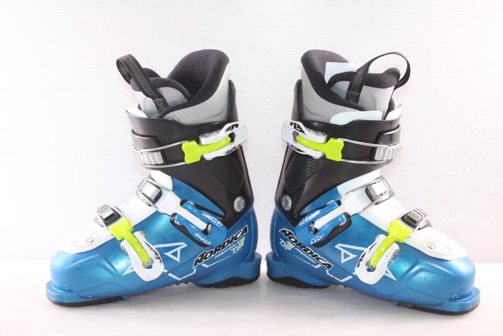 Dětské lyžáky Nordica Team 3 Firearrow vel. EU31