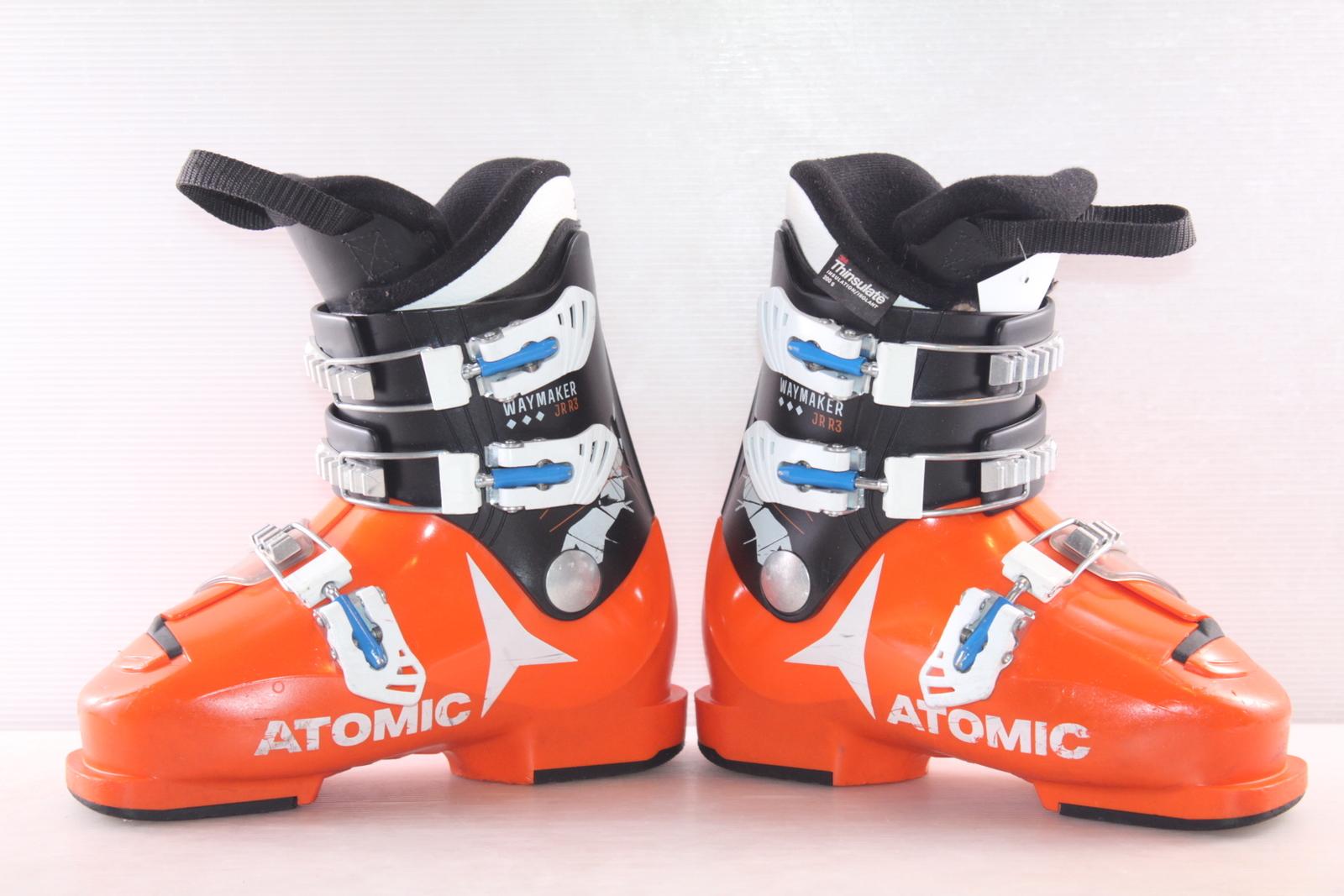 Dětské lyžáky Atomic Way Maker JR R3 vel. EU36