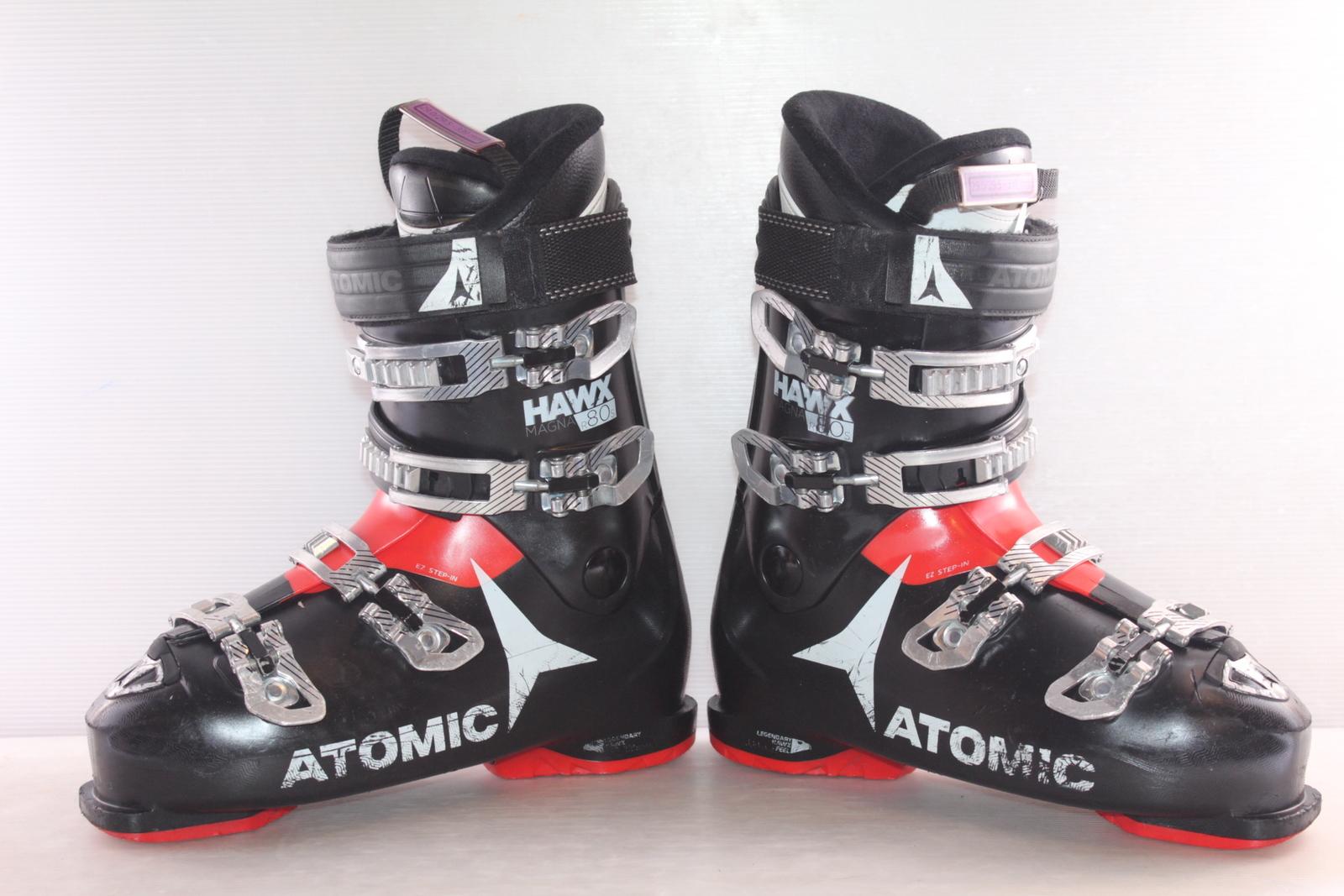 Lyžařské boty Atomic Hawx Magna R80 S vel. EU45 flexe 80