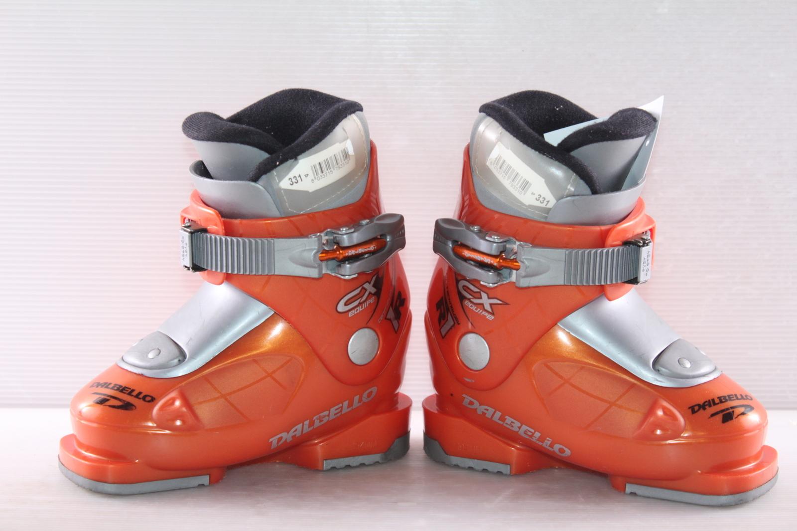 Dětské lyžáky Dalbello CX Equipe R1 vel. EU25