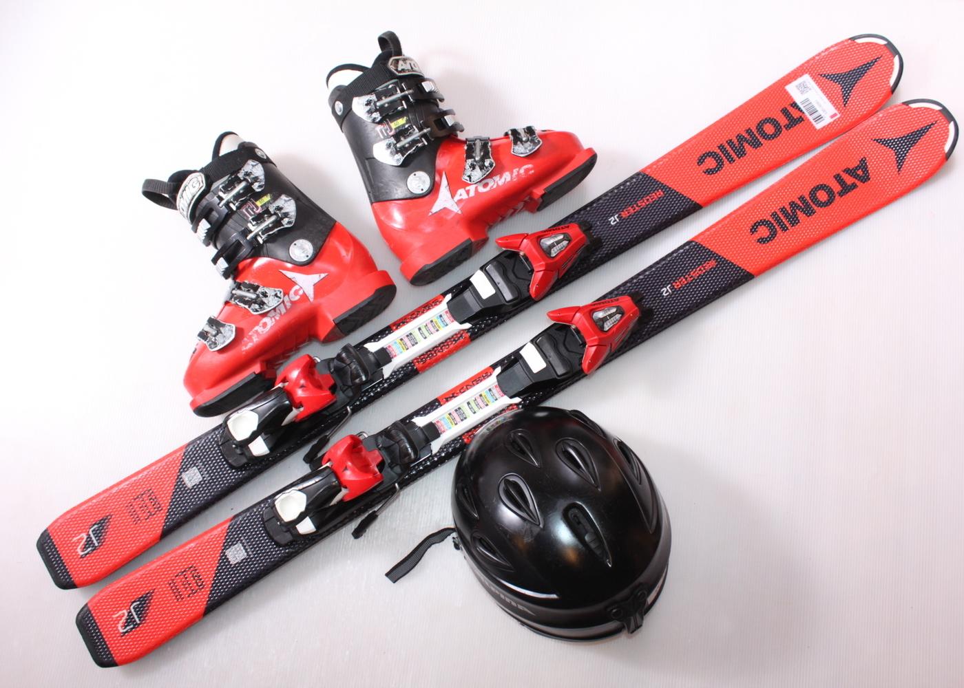 Dětské lyže ATOMIC REDSTER J2 120 cm + lyžáky  36EU + helma