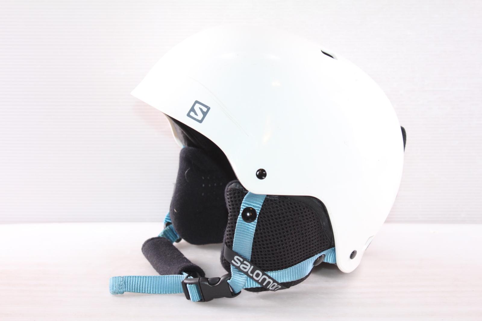 Dětská lyžařská helma Salomon Kiana Rental Blue - posuvná vel. 51 - 55