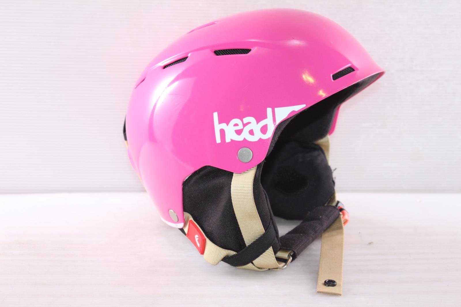 Dámská lyžařská helma Head Air Youth Pink - posuvná vel. 56 - 59