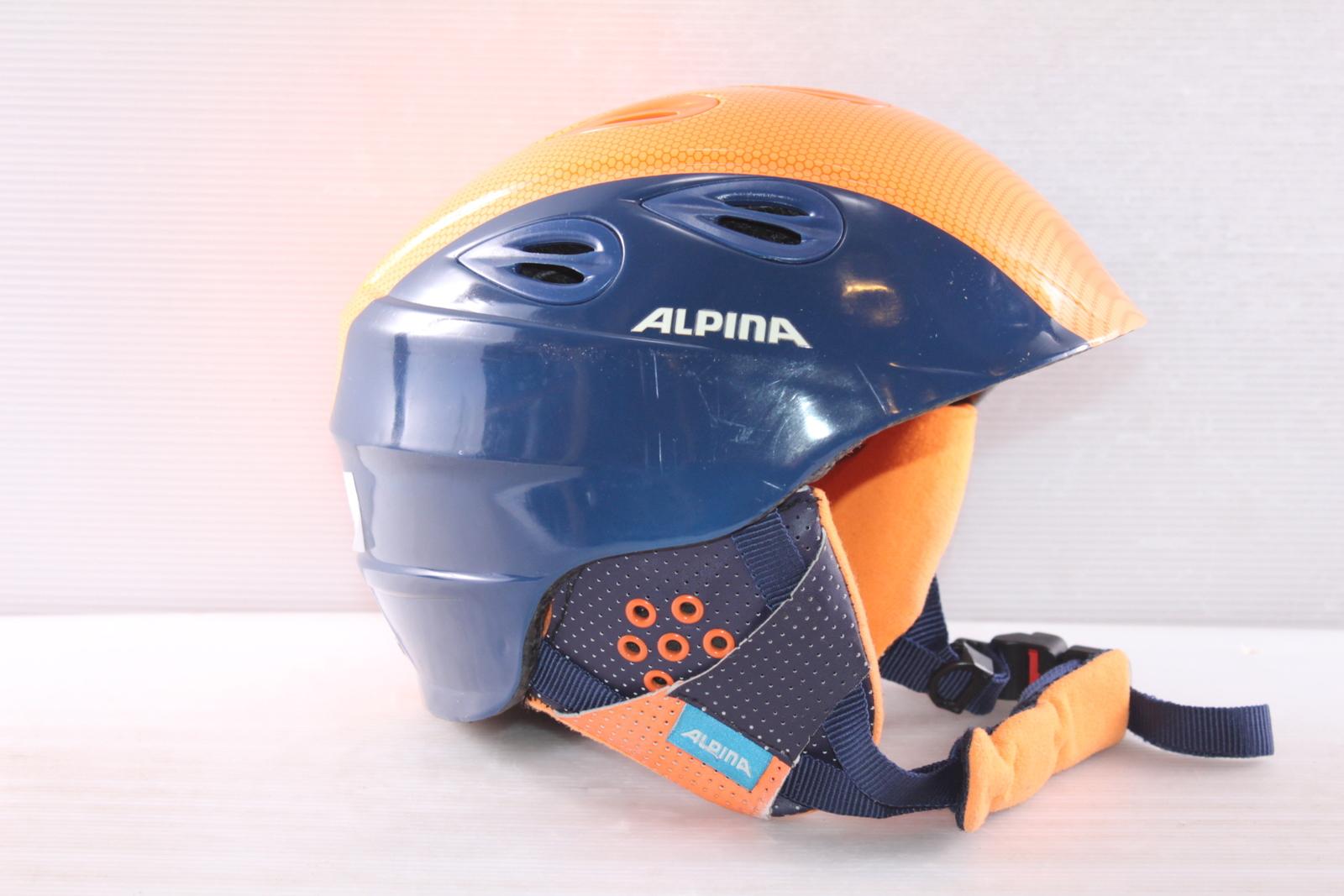 Dětská lyžařská helma Alpina Grap 2.0 JR. - posuvná vel. 54 - 57