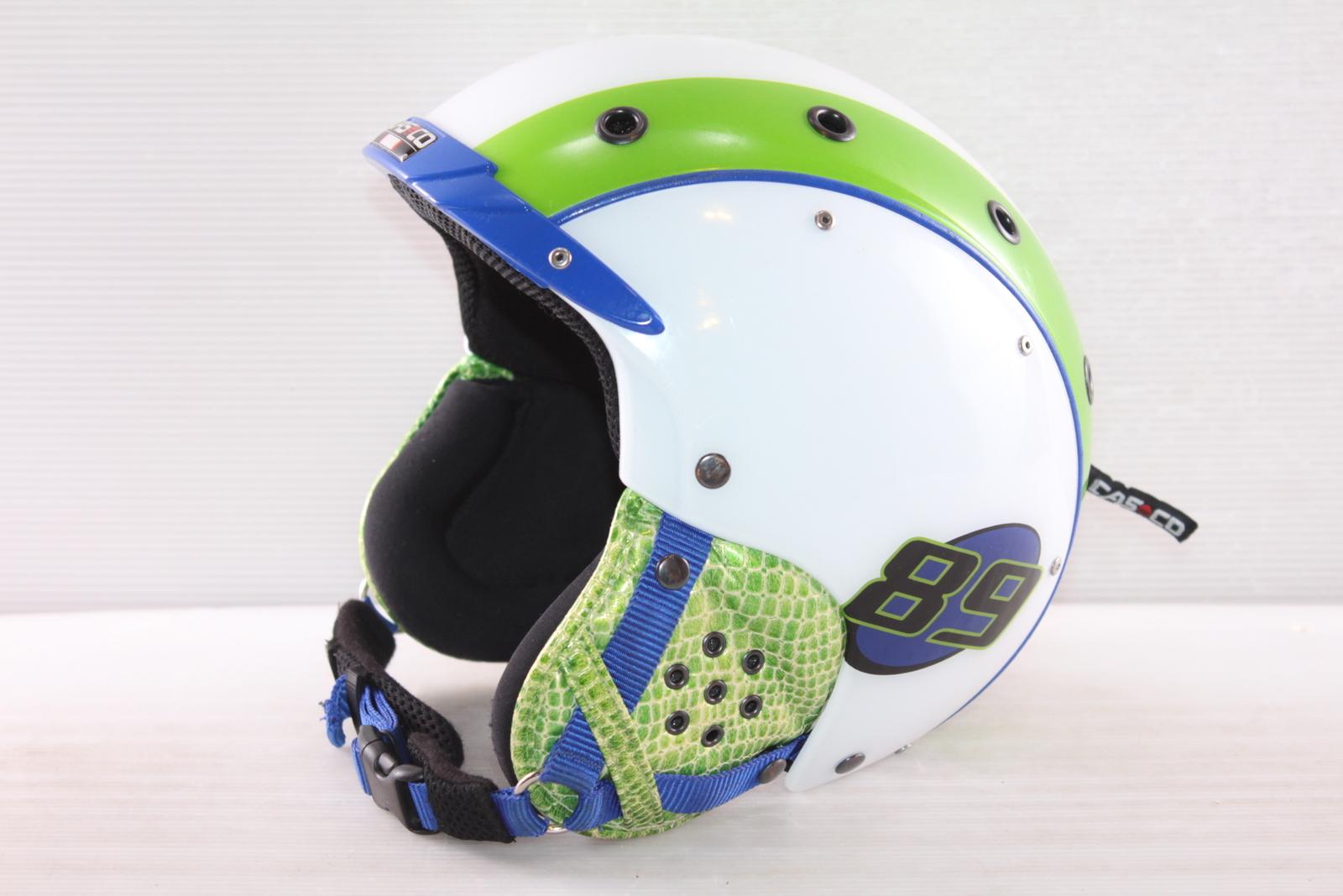 Dětská lyžařská helma Casco Casco 89 - posuvná vel. 54 - 56