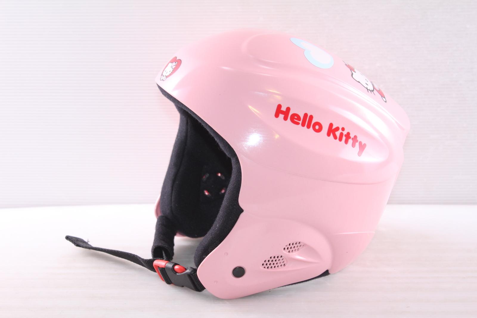 Dívčí lyžařská helma V-KI Hello Kitty vel. 56